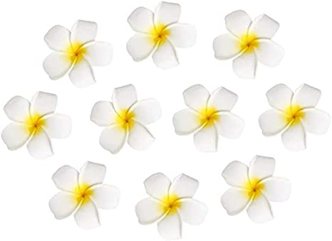 10pcs Plumeria Foam Hawaiian Frangipani Flowers For Wedding Party Decoration