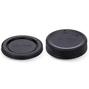 JJC Rear Lens Cap Kit for Canon, Nikon, Sony, Fujifjilm, Micro 4/3, 4/3 Samsung Cameras by JJC