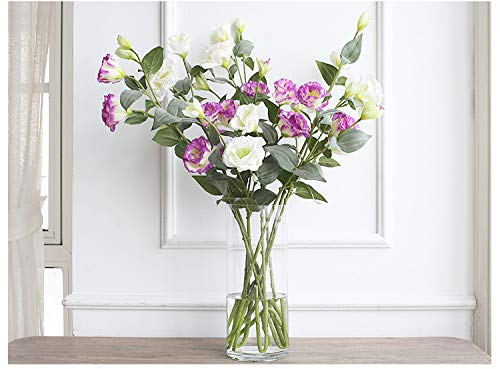 YZUEYT 人工花偽花装飾花リビングルームベルフラワーフラワーエナメルテーブル装飾ガラス花瓶 YZUEYT (Size : C) B07PBPV5M7  C