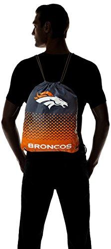 Denver Broncos NFL 1749Rucksack Kordelzug Unisex Erwachsene Kinder