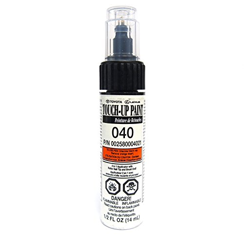 genuine-toyota-00258-00040-21-white-touch-up-paint-pen-1-2-fl-oz-14-ml