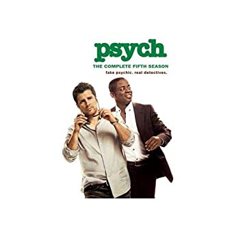 amazon psych complete fifth season dvd import tvドラマ
