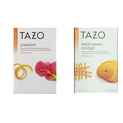 (Tazo Passion and Wild Sweet Orange tea bundle)