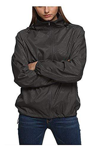 Uv Unisex Larga Grau Fácil Mujer Collar Mujeres Cazadoras Outdoor Fashion Abrigos Manga Protección Capucha Primavera Outerwear Capa Battercake Hombre High Con Casual Casuales Chaqueta Otoño qfAwWxTvfH