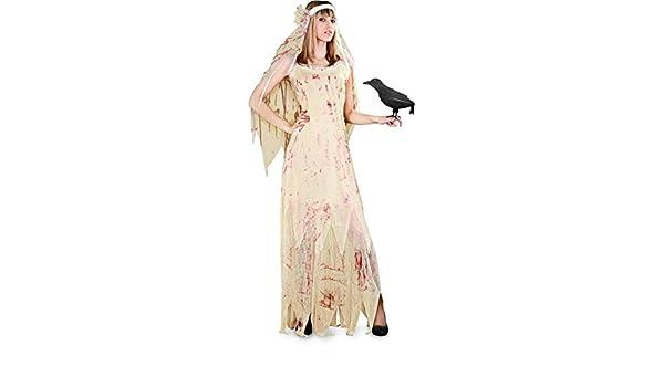 Disfraz Novia Cadáver Mujer: Amazon.es: Juguetes y juegos