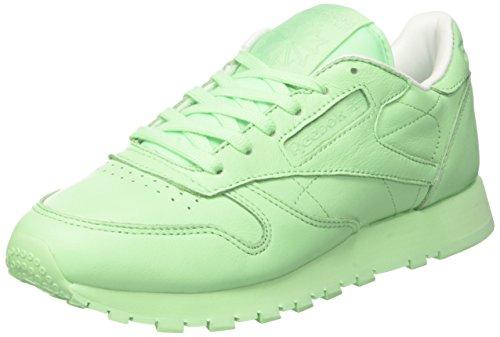 Rose White Pastels Green Sneakers Mint Femme Vert LTHR Reebok Cl 7qxOWwHXHv