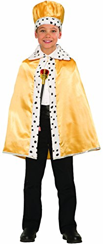 Kid's Gold King Cape ()