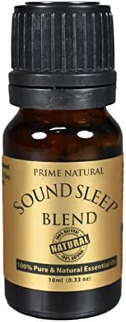 SOUND SLEEP Essential Oil Blend 10ml - 100% Natural Pure Undiluted Therapeutic Grade for Aromatherapy, Scents & Diffuser - Natural Sleep Aid, Depression Stress Anxiety Relief, Relaxation, Boost Mood