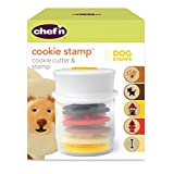 Chef'n Cookie Cutter and Stamp, Dog Shapes