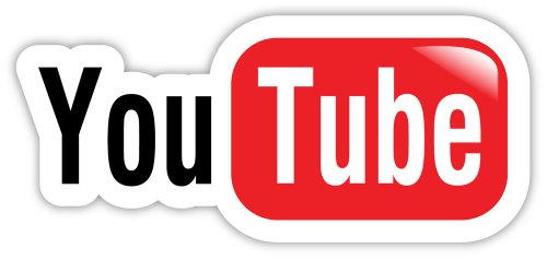 YouTube You Tube sticker decal product image