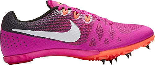 Nike Zoom Rival MD Mid Distance Track Spikes Shoes Womens Size 7 (Pink, Purple, Black)