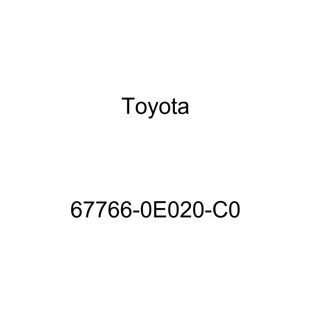 Toyota 67766-0E020-C0 Door Service Hole Cover