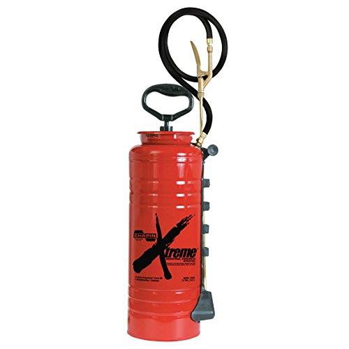 Sprayer Liquid (Chapin 19049 Industrial Xtreme Tri-Poxy Concrete Sprayer, 3.5-Gallon Red)