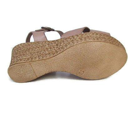 Hecho De 6cm Cuña Zapato España Con Y En 220 Piel Fabricado Aqa81E8nw