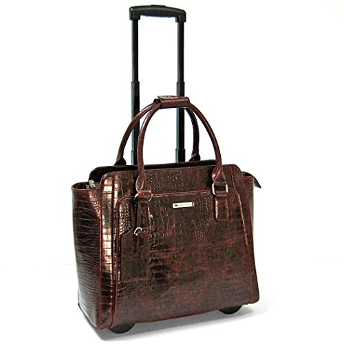 Empire Laptop Briefcase Color: Brown by Cabrelli