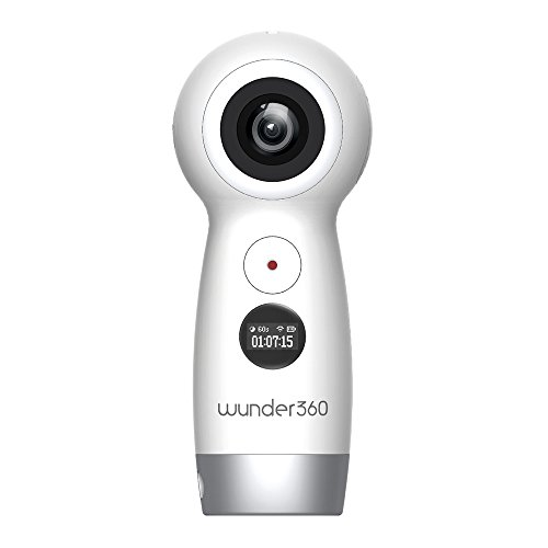 Evomotion Wunder360 4K Capable Action VR Video 360 Degree Camera Panoramic Dual-Lens High Resolution