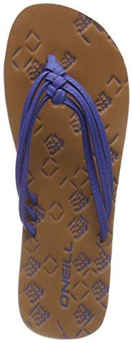 Blau Blue Mujer Dark Flops para Ditsy Flip Neon O'Neill Fw 3 5144 Chanclas Strap qABB1w