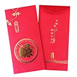 junjunli 36PCS New Year 2019 Red Envelope with New Year Painting Spring Festival Personality Innovation Holiday Red Packet
