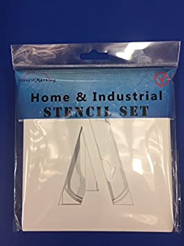 Stencil Products 6'- 150mm A - Z Letters A & S Stencil Marking