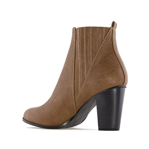 Faux 5 5 35 To In Detail Petite Elastic Range 0 Andres To 5 Size and EU 10 Leather Boots Large Sizes Leather 2 To AM4084 32 With Brown faux 45 To Light Machado Ankle UK EU UK 8 42 x4xqAUX