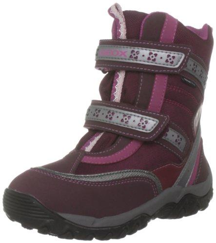 Geox Junior AlaskA girl WP J1306Q01150C4002 - Botas para niña - Burgundy