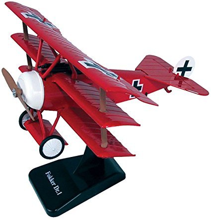 Fokker DR-1 Triplane WWI Fighter 1/48 Scale Model Kit by NewRay