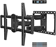 "Mounting Dream TV Wall Mount for Most 42-70"" Flat Screen TVs, Full Motion Wall Mount for TV with Dual Swi"