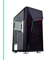 Pc Gamer Intel Core i7, 16GB RAM DDR3, GT 1030 2GB, SSD 480GB, Fonte 500w, Gabinete com LED-