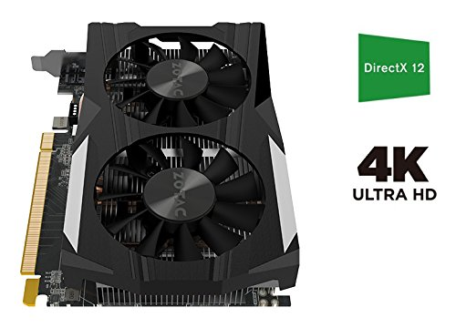 ZOTAC GeForce GTX 1050 Ti OC Edition 4GB GDDR5 Super Compact Gaming Graphics Card (ZT-P10510B-10L) by ZOTAC (Image #5)