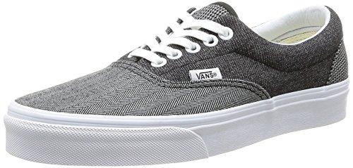 Vans Era, Unisex-Adults' Low-Top Trainers Black (Noir (Black/True White))