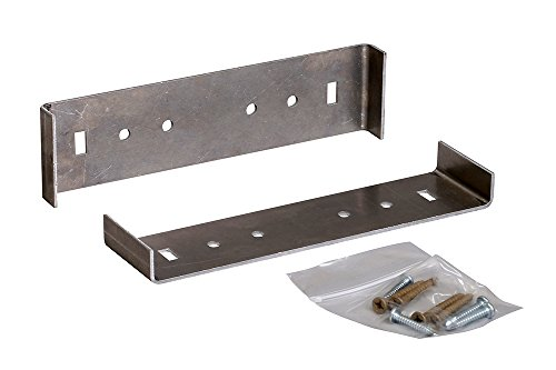 "Rust-Free Aluminum Large Mailbox Mounting Bracket (designed to fit 21.42"" L x 8.72"" W mailboxes) Aluminum Mounting Bracket"