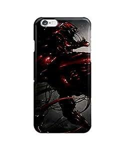 Venom Spider man Villain Marvel Comics Collage movie- Funda Carcasa para Apple iPhone 6