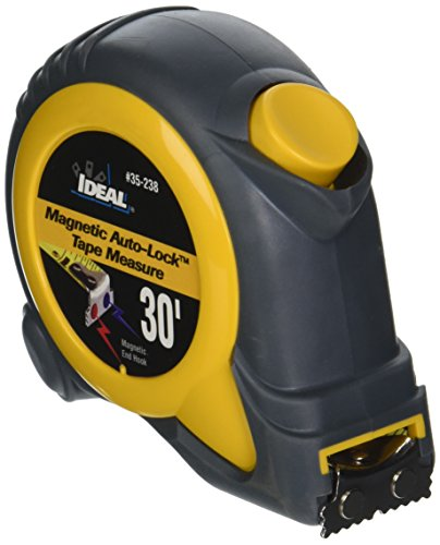 Measuring Tape Mag (Ideal 35-238 Magnetic-Tip Measuring Tape, 30-Foot)