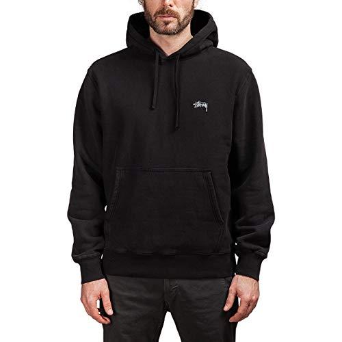 Stussy Luxury Fashion Mens 118311 Black Sweatshirt | Spring Summer 19