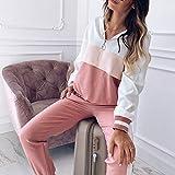 Ultramall Women Tracksuit Sweatshirt Pants Sets