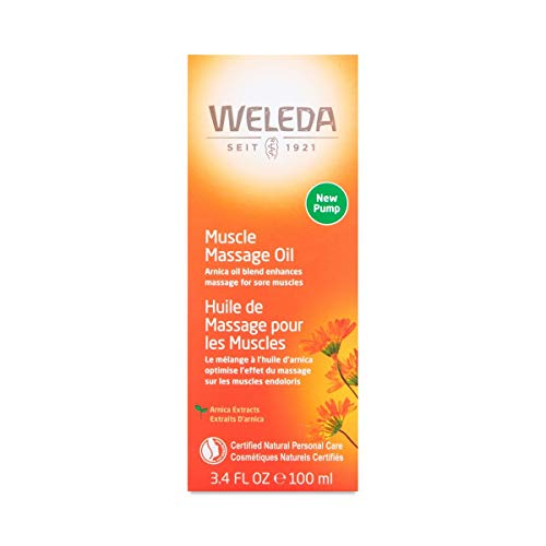 Weleda Arnica Massage Oil 3.4 Fl Oz