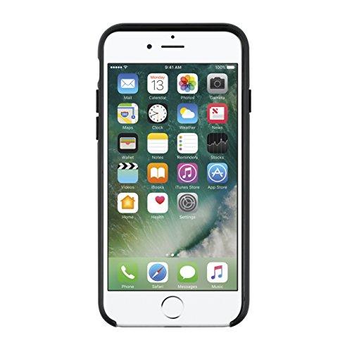 Kate Spade New York Hardshell Case Carcasa para Apple iPhone 7Plus–oro/multi transparente diseño brillante | Logo dorado materiales de alta calidad, compatible con Apple iPhone 7 Schwarz/Weiß/Rose