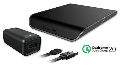 iPhone Wireless Charging Pad with Qualcomm Quick Charge 2.0 that Supports Quick Charge Compatible Devices - Compatible With New iPhone 8 iPhone 8 Plus and iPhone X (2017) -  Qmadix, QM-WRCP-Q2