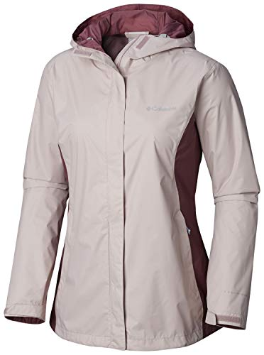 Columbia Women's Plus Size Arcadia II Jacket, Mineral Pink/Antique Mauve X-Large