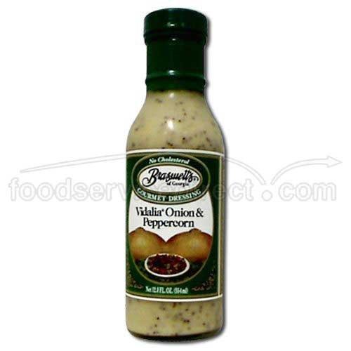 (Braswell Dressing Vidalia Onion Peppercorn, 12 ounce each -- 6 per case. by Braswells)