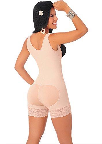 Bslingerie - Body - para mujer Beige Full Slip II