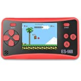 "ZHISHAN Retro Handheld Game Console Gaming Player System Birthday Gift for Kids Built in 168 Classic Nostalgia Games with 2.5"" LCD Screen Arcade"