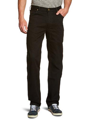 Jeans Rinse Uomo Comfort Straight Brooklyn black Nero Lee EwUZqx
