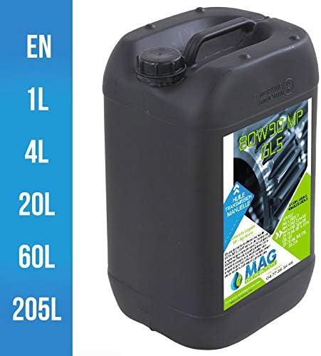 Mag Distribution – Aceite caja 80W90 GL5 MP – 80W90MP: Amazon.es ...
