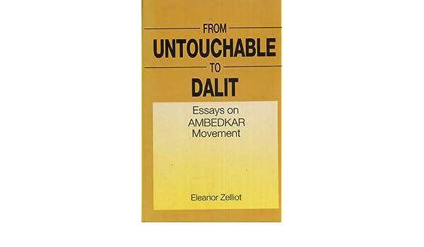 Essay On Library In English From Untouchable To Dalit Essays On Ambedkar Movement Eleanor Zelliott  Amazoncom Books Healthy Lifestyle Essay also High School Essay From Untouchable To Dalit Essays On Ambedkar Movement Eleanor  How To Start A Proposal Essay