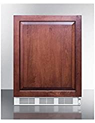 Summit FF61BIIFADA Refrigerator, Brown