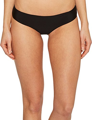 Rip Curl Junior's Classic Surf Hipster Cheeky Coverage Bikini Swim Suit Bottom, Black 2K, XL