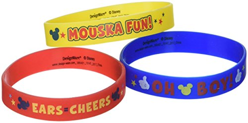 Amscan (Amsdd Childrens-Shaped-Rubber-Wristbands (24), 36 Pieces by Amscan