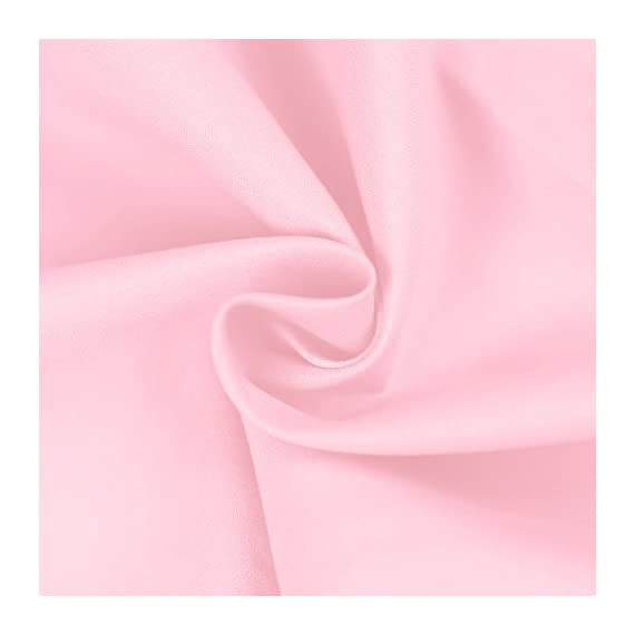 """BASIC CHOICE Bed Sheet Set - Brushed Microfiber 2000 Bedding - Wrinkle, Fade, Stain Resistant - Hypoallergenic - 4 Piece (Queen, Baby Pink) - QUEEN SIZE LUXURY 4pc Bed Sheets Set - 1 flat sheet 102""""x90"""", 1 fitted sheet 80""""x60"""", 2 pillowcases 20""""x30"""". Deep pocket fitted sheet with elastic all around (not just the corners, like other sheets). Fits mattresses up to 14"""" FEEL THE DIFFERENCE -Sleep better and wake up each morning feeling refreshed and full of energy. Silky soft, most comfortable and luxurious bed sheets you can find. Best for any room in your house - bedroom, guest room, kids room, RV, vacation home. Great gift idea for men and women, Moms and Dads, Christmas, New year. EASY CARE -Fade, stain, shrink and wrinkle resistant. Machine wash in cold. Dries quick on tumble dry low. More durable than cotton. Hypoallergenic and resistant to dust mites - sheet-sets, bedroom-sheets-comforters, bedroom - 41F15oC0%2BrL. SS570  -"""