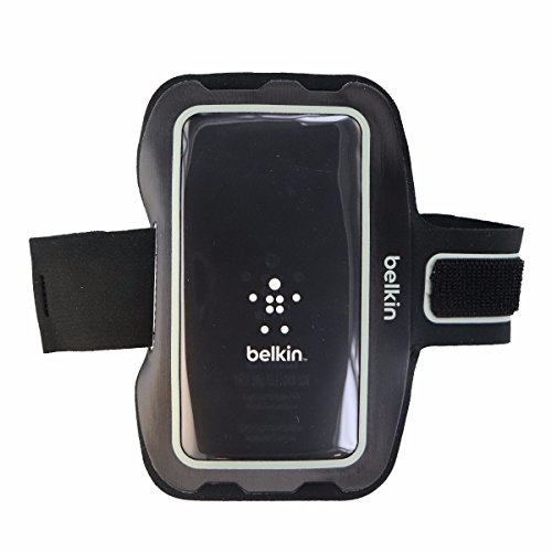 - Belkin Universal Sport-Fit Armband for Small Devices (Up to 4.9 in) - Black - F8M952-C00